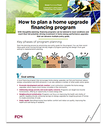 How to plan a home upgrade financing program