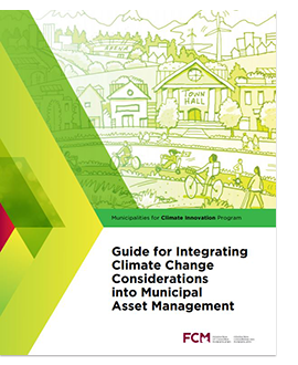Cover of Guide for Integrating Climate Change Considerations into Municipal Asset Management.