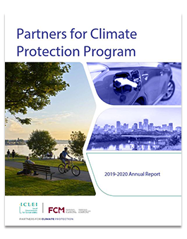 Cover of PCP annual report.