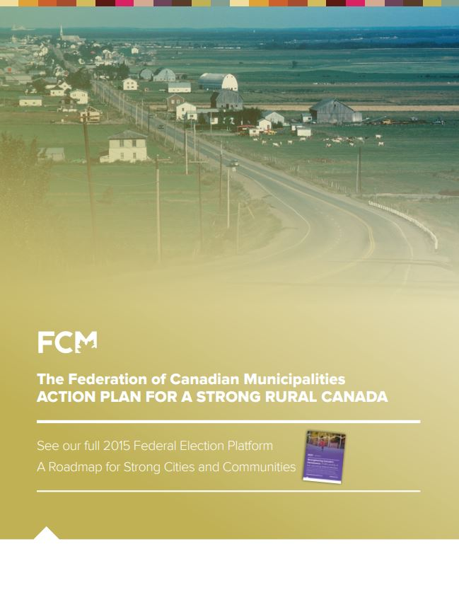 2015 Federal Election Platform: Action Plan for a Strong Rural Canada