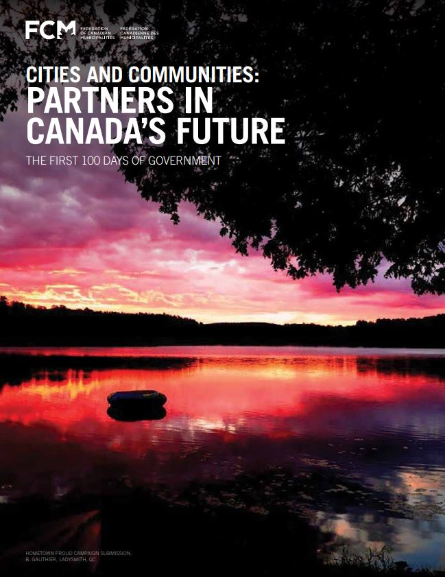 Cities and Communities: Partners in Canada's Future