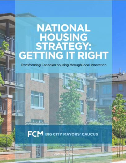 National Housing Strategy: Getting it right